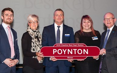 Poynton is Cheshire's Best Kept Station 2016